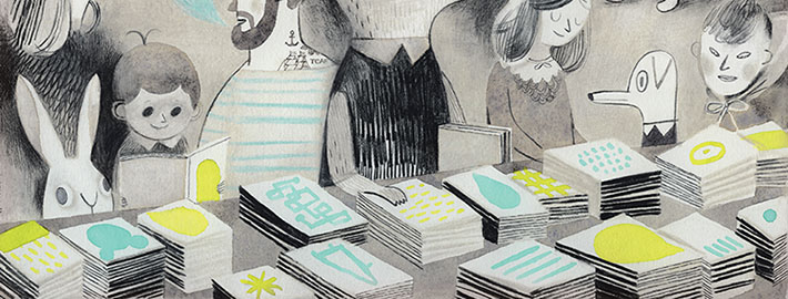 Toronto Art Festivals: Isabelle Arsenault for TCAF 2014