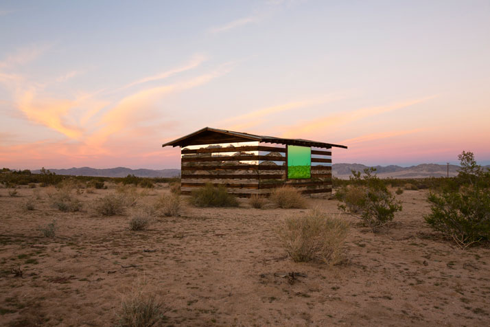 Where You'd Rather Be: Feel-Good Art - Phillip K Smith III, Lucid Stead